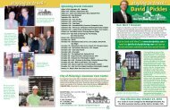 Newsletter Summer 2010 - City Councillor David Pickles