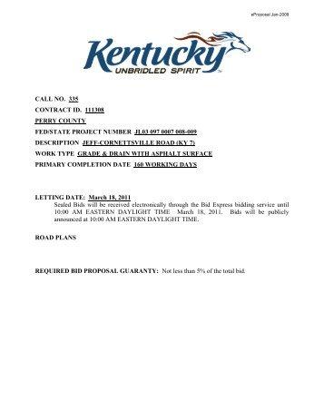335-perry-11-1308 - Kentucky Transportation Cabinet