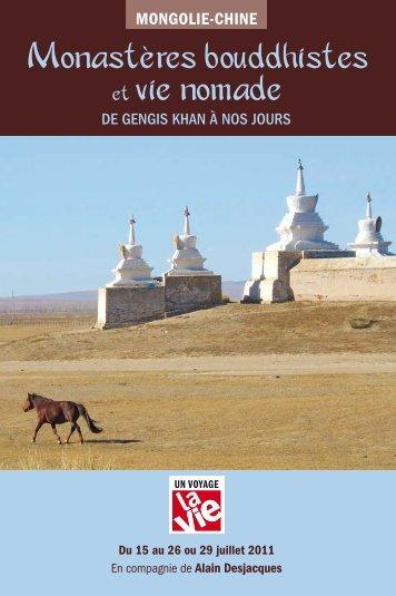MONGOLIE-CHINE - La Vie