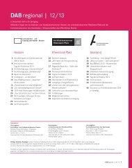 Ausgabe Dezember 2013 - Architektenkammer des Saarlandes