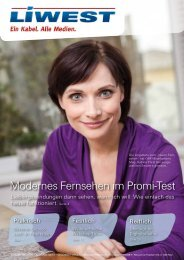 PDF-Download LIWEST Kundenmagazin Ausgabe Dezember 2013