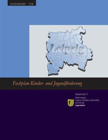 Fachplan Kinder- und Jugendförderung - Stadt Leipzig