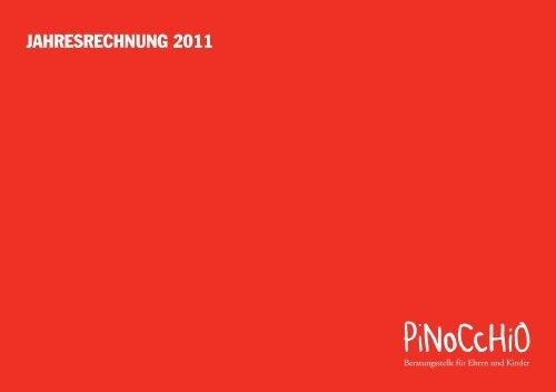 JAHRESRECHNUNG 2011 - Pinocchio