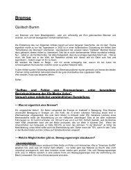 Bremse - Volvo Club Deutschland eV