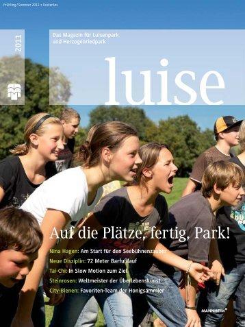 Auf Die Plätze, Fertig, Park! – Das Magazin Für - Herzogenriedpark