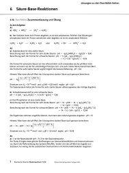Kapitel 6 Lösungen zu den Durchblickseiten - Ernst Klett Verlag