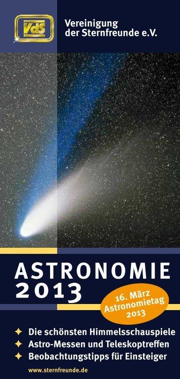 Astronomie 2013