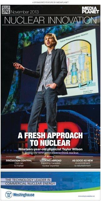 Nuclear Innovation - Candu Energy Inc.