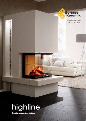 highline - Gutbrod Keramik GmbH