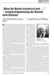 Energierückgewinnung des muskels beim Bremsen - Deutsche ...