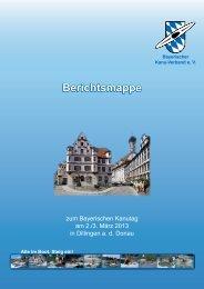 Berichtsmappe 2012