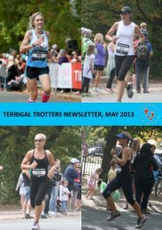 TERRIGAL TROTTERS NEWSLETTER, MAY 2013
