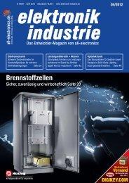 PDF-Ausgabe herunterladen (34.2 MB) - elektronik industrie