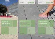 Lebensräume mit Tiefgang Expertise und Qualität - Forum ...