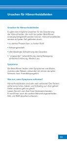 Hämorrhoiden - Chirurgische Gemeinschaftspraxis Germering - Seite 3