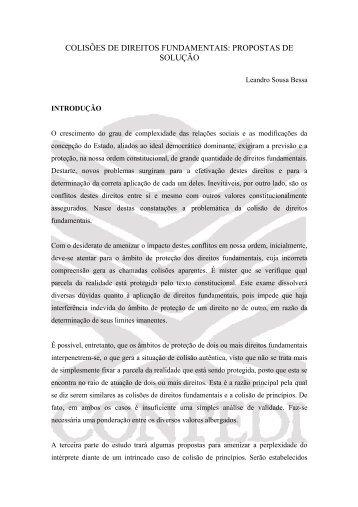 Leandro Sousa Bessa - Conpedi