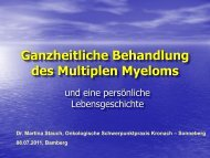 Ganzheitliche Behandlung des Multiplen Myeloms