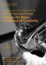 Download Festival of Brass leaflet