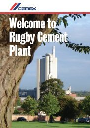 Welcome to Rugby Cement Plant - CEMEX communities
