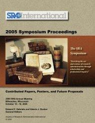 The SRA Symposium - College of Medicine
