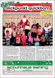 Nr. 450 – Dezember 2006 - Blickpunkt Quickborn