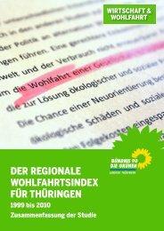 Studie RWI - GRÜNEN Landtagsfraktion Thüringen