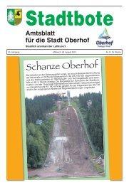 Schanze Oberhof
