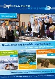 Aktuelle Reise- und Kreuzfahrtangebote 2010