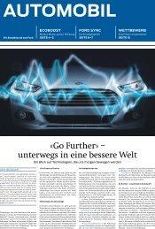 «Go Further» – unterwegs in eine bessere Welt - Ford - Order Page