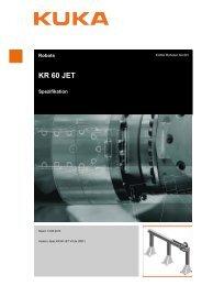 KR 60 JET - Kuka Robotics