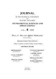 VOL.8 Series A — Pure and Applied Mathematics Series B