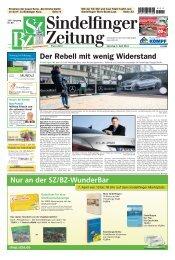 Der Rebell mit wenig Widerstand - Sindelfinger Zeitung / Böblinger ...