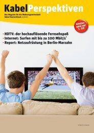 Neu! Kostenlose Bestellhotline - Kabel Deutschland