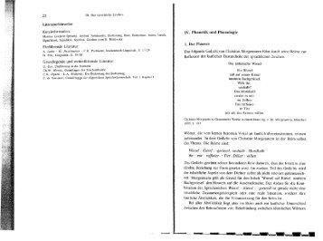 IV. Phonetik und Phonologie - Webnode