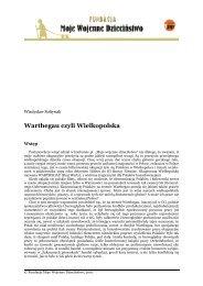 """Warthegau czyli Wielkopolska - Fundacji """"Moje Wojenne Dzieciństwo"""""""