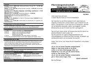 19-2013 Kirchenanzeiger 05. bis 12.05.13 - Pfarreiengemeinschaft ...
