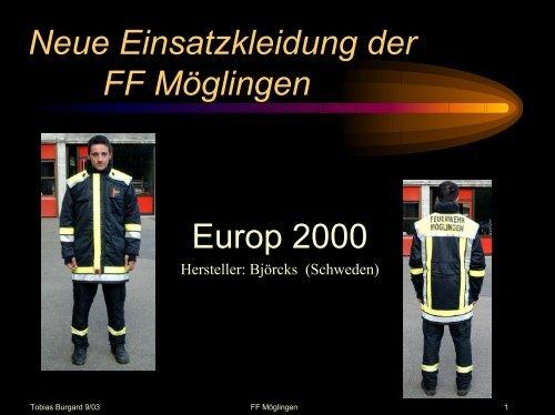 Einsatzjacke - Freiwillige Feuerwehr Möglingen