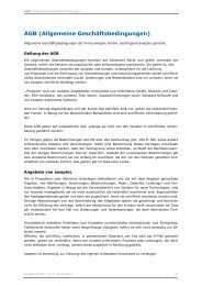 AGB (Allgemeine Geschäftsbedingungen) - awaptec GmbH
