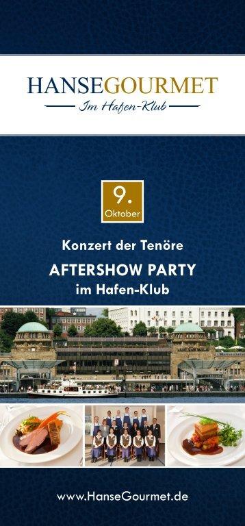 Konzert der Tenöre - HanseGourmet