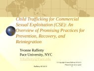 Child Trafficking for Commercial Sexual Exploitation (CSE): An ...