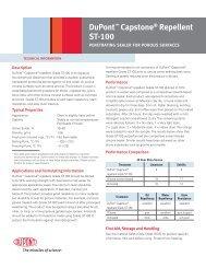 DuPont™ Capstone® Repellent ST-100