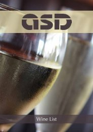 Wine List - ASD Wholesale