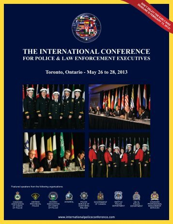 THE INTERNATIONAL CONFERENCE - International Police
