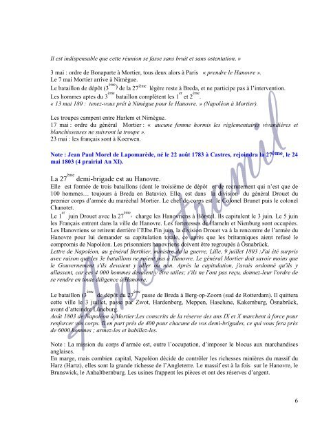 27 REGIMENT D'INFANTERIE LEGERE - Ancestramil