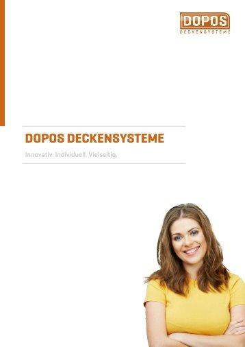 DOPOS DECKENSYSTEME