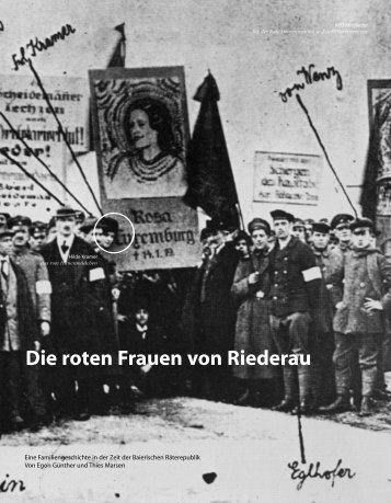 Die roten Frauen von Riederau - Hinterland Magazin