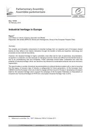 Report (PDF) - Parliamentary Assembly of the Council of Europe