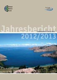 GNF Jahresbericht 2012/2013 (3 MB) - Global Nature Fund
