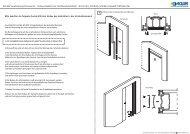 Sichtblende fuer Glasblatt - Eclisse