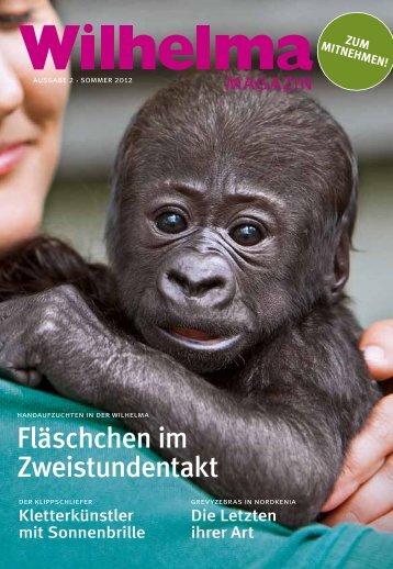 Wilhelma magazin 2/2012